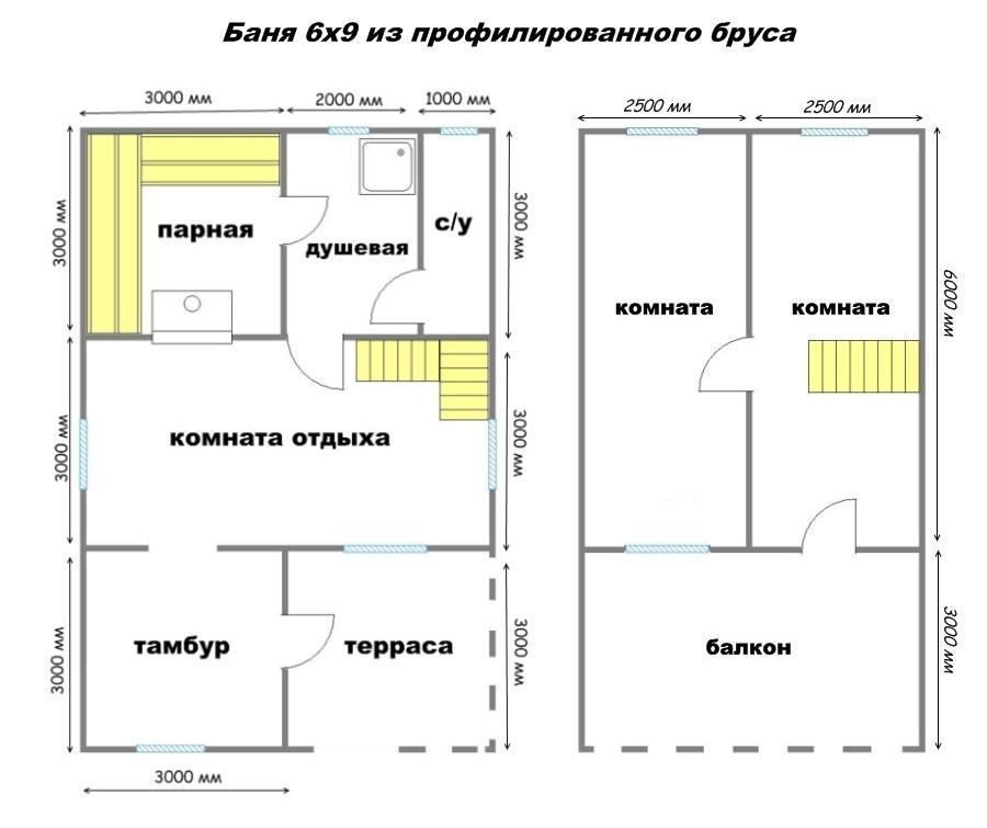 планировка дома двухэтажного фото